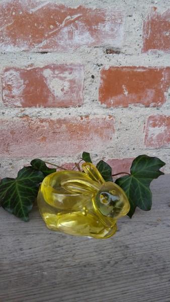 Glashase Für Teelicht Gelb
