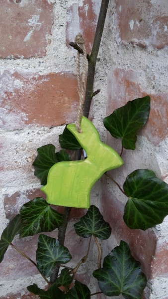 Hasenhänger Grün