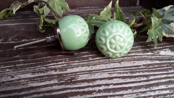 Möbelknopf Grün