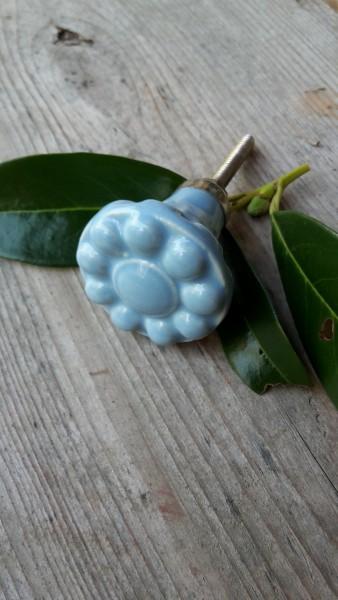 Möbelknopf Hellblau