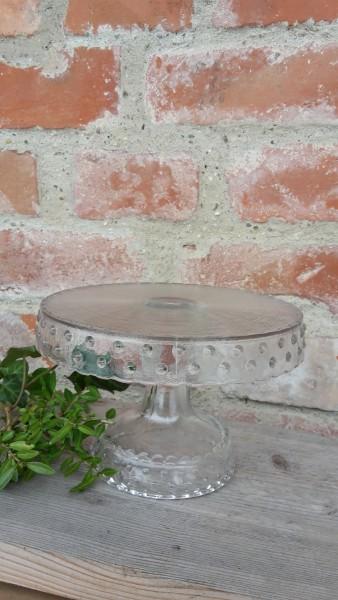 Tortenplatte Glas