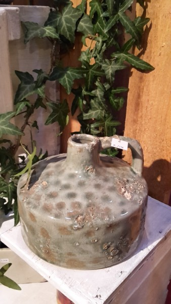 Keramikvase Antique Turquoise
