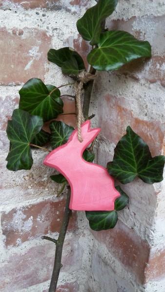 Hasenhänger Pink