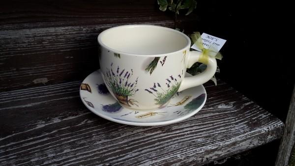 Pflanztasse Lavendel