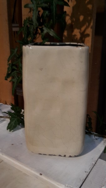 Pflanztopf Vase Quadratisch Hoch Lindgrun Topfe Und Vasen