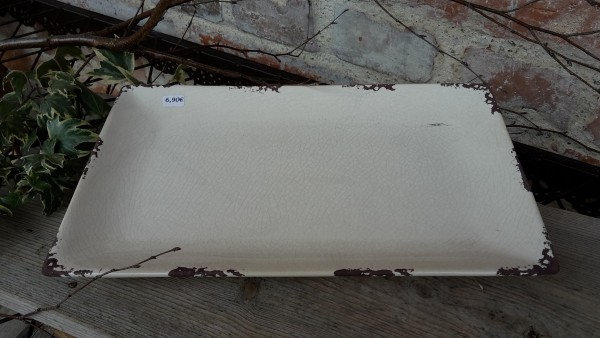 Keramikplatte Weiß