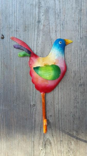 Haken Vogel Bunt